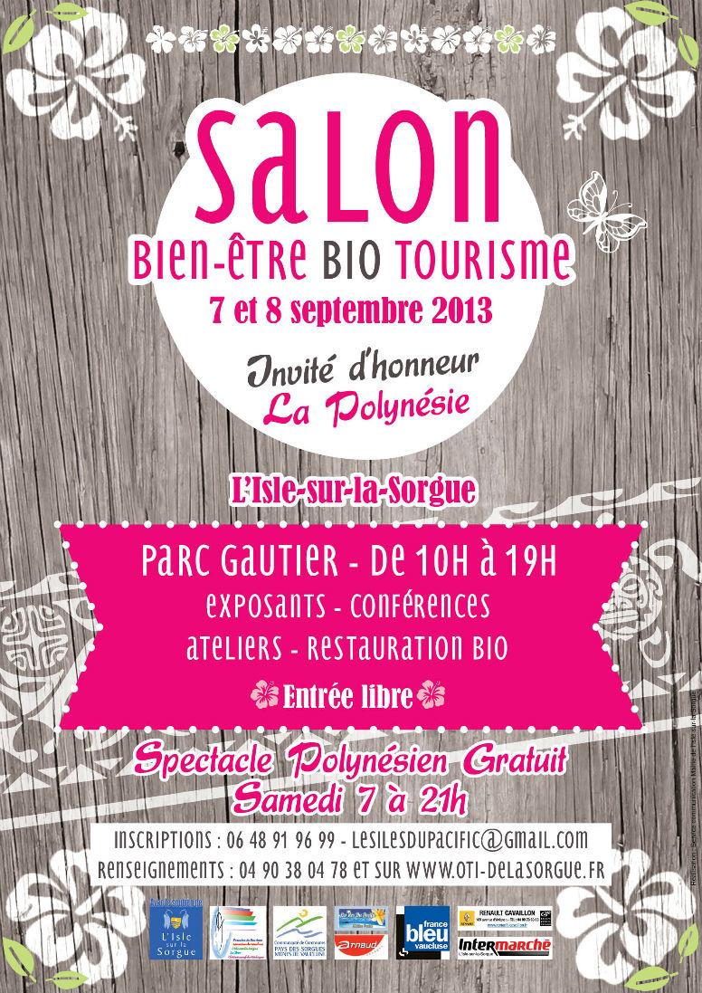 Salon bio bien tre et tourisme isle sur la sorgue for Salon bien etre mandelieu