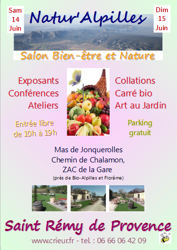 Stand inner beauty au salon natur 39 alpilles de st r my de for Salon bien etre marseille